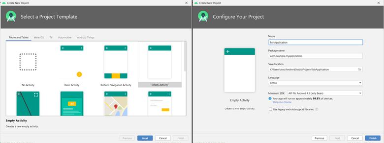 모바일 앱 만들기 #1, 안드로이드 스튜디오 프로그램 설치 2